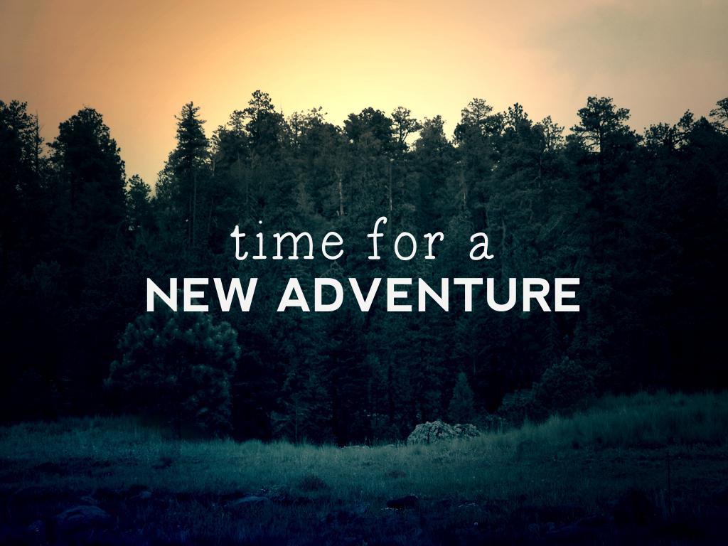new-adventure